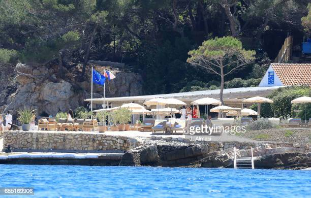 Uber Helicopter service army presence and general atmosphere images during the 70th annual Cannes Film Festival at on May 19 2017 in Cannes France