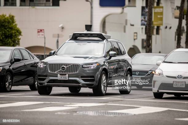 Uber selbst Auto in San Francisco
