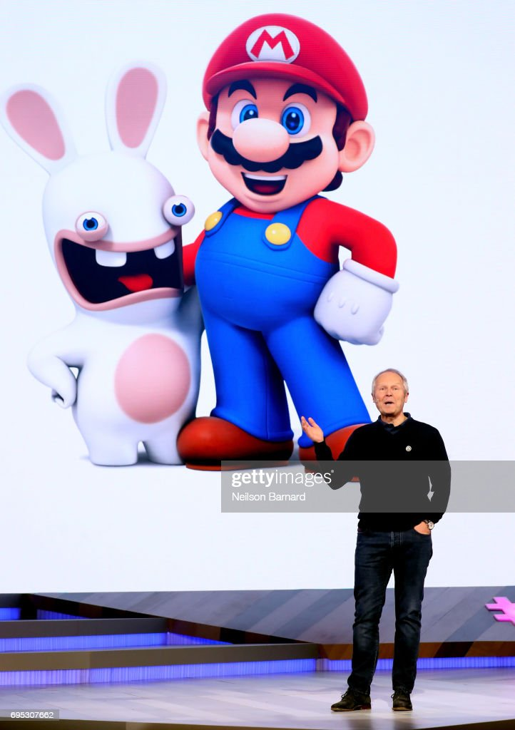 Ubisoft Co-founder and CEO Yves Guillemot speaks onstage during the Ubisoft E3 2017 conference at Orpheum Theatre on June 12, 2017 in Los Angeles, California.