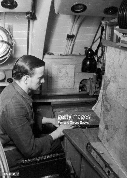 A UBoat Operator Using ENIGMA Encripting Code