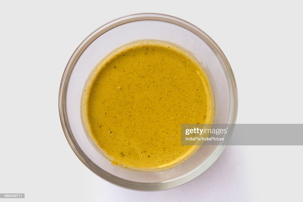 Ubtan paste in a bowl : Stock Photo