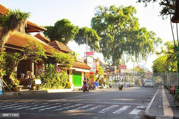 Ubud Bali Indonesia street view daytime
