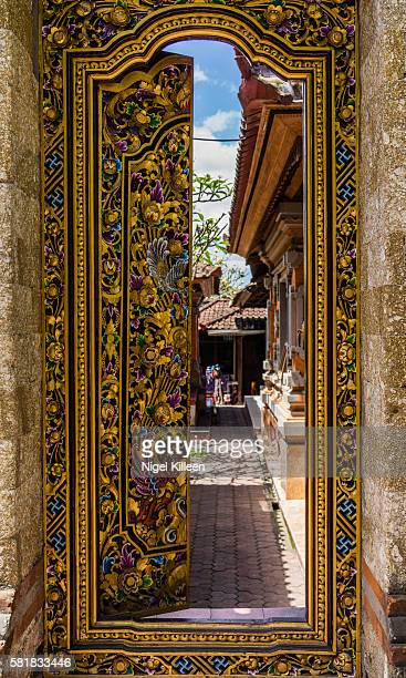 ubud, bali - balinese culture stock pictures, royalty-free photos & images