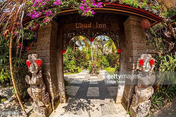 Ubud Inn Archway in Indonesia