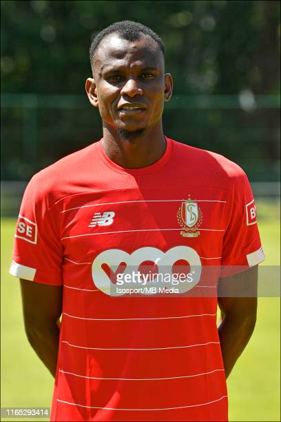 Uche Agbo of Standard during the 2019 - 2020 season photo shoot of Standard de Liege on July 10, 2019 in Liege, Belgium.