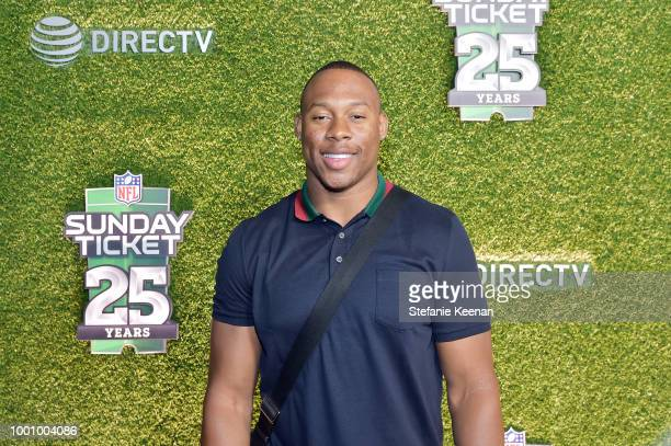 Uchenna Nwosu attends DIRECTV CELEBRATES 25th Season of NFL SUNDAY TICKET at Nomad Hotel Los Angeles on July 17 2018 in Los Angeles California