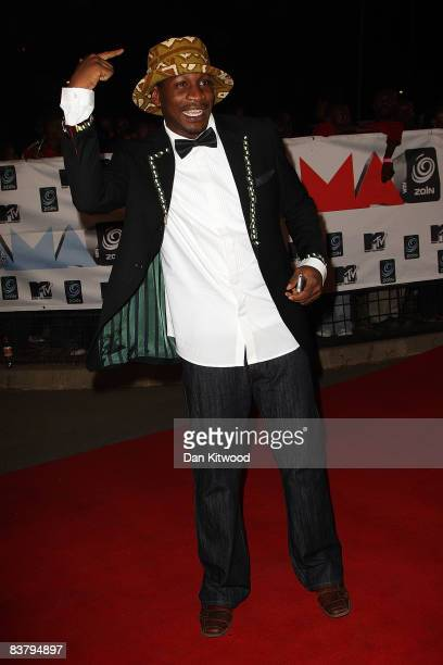 Uchie the African Rockstar arrives for the MTV Africa Music Awards 2008 at the Abuja Velodrome on November 22, 2008 in Abuja, Nigeria.