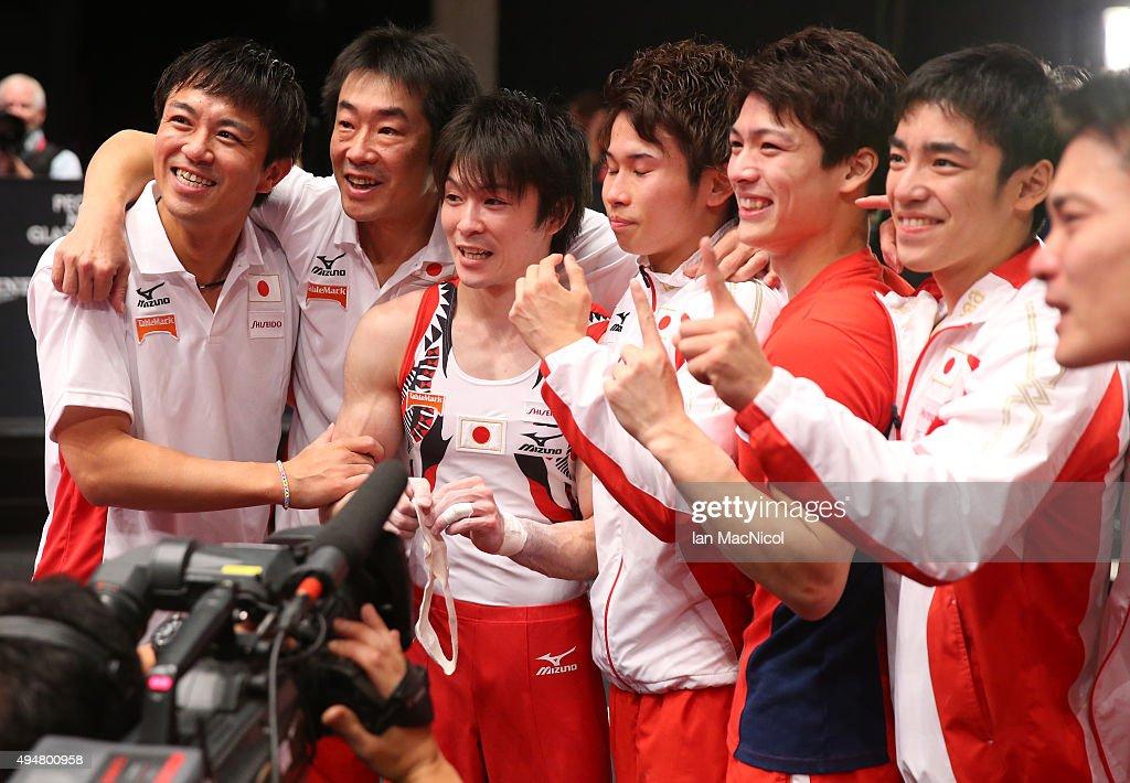 2015 World Artistic Gymnastics Championships - Day Six : News Photo