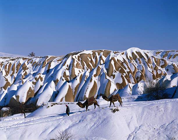 Uchisar in winter.