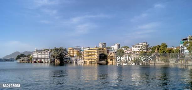 Udaipur and Lake Pichola   Rajasthan   India