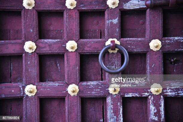 Udaipur, Wooden Door, Rajasthan, India