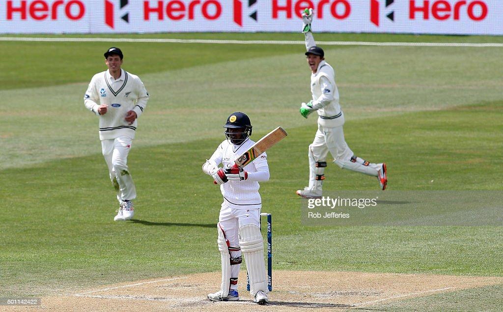 New Zealand v Sri Lanka - 1st Test: Day 4
