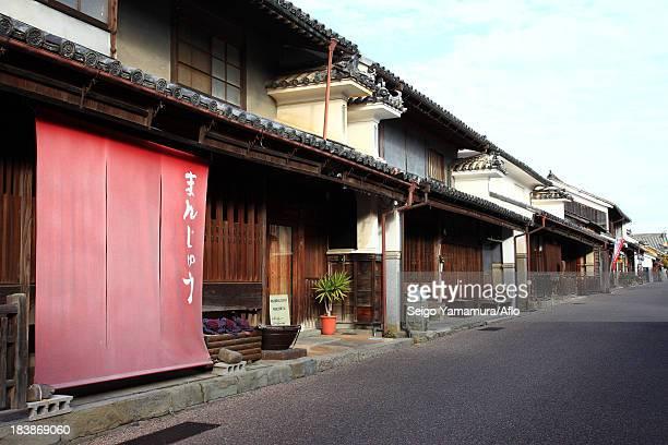 Udatsu old town, Tokushima Prefecture