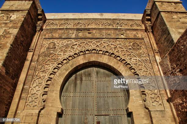 Udayas Kasbah in the medina of Rabat in Morocco Africa The Kasbah dates back to the 12th century