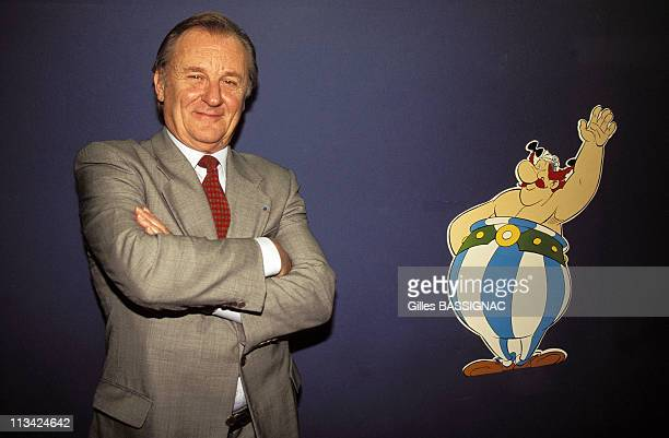 A Uderzo Asterix The Exhibition Opens On October 1st1996 In Paris France
