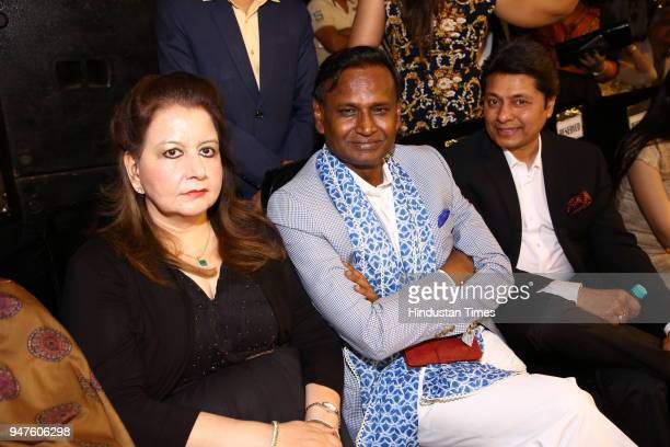 Udit Raj during the Fashion Show to promote Ahimsa Silk and Khadi on April 1 2018 in New Delhi India
