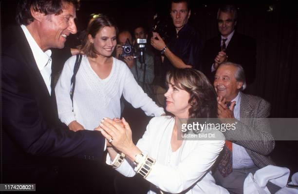 Udo Jenny and Panja Jürgens in Aber bitte mit Sahne 1994