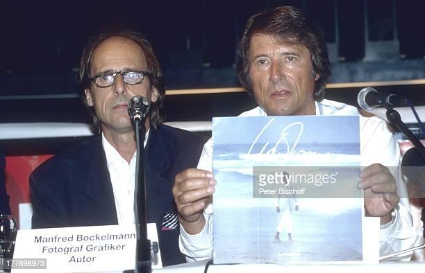 Udo Jürgens Bruder Manfred Bockelmann PK zur ZDF/ORF/SRGGeburtstagsshow Aber bitte mit Sahne zum 60 Geburtstag von U D O J † R G E N S Zürich Schweiz...