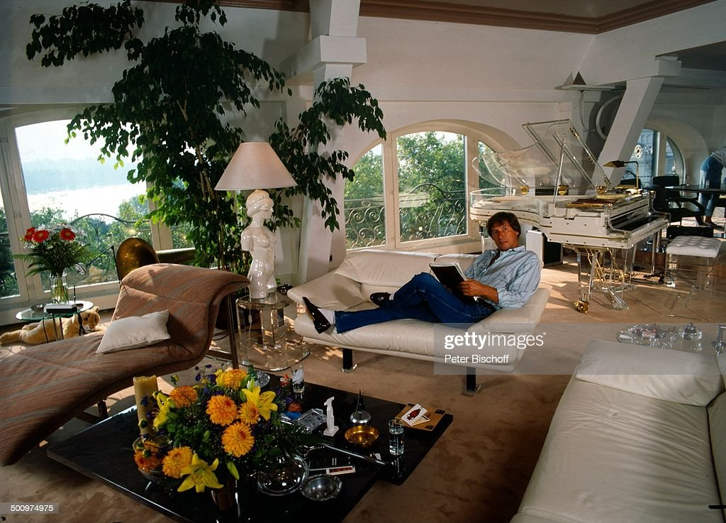 Udo Jürgens, , , Homestory, Luxus-Wohnung, Zürich, Schweiz, Europa