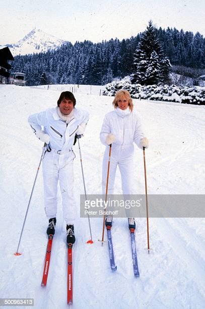 Udo Jürgens Lebensgefährtin Corinna Reinhold Kitzbühel/Österreich Ski Urlaub Winter Promi Foto PBischoff
