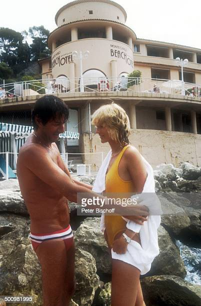 Udo Jürgens Lebensgefährtin Corinna Reinhold Urlaub Monaco/Monte Carlo Schlagersänger Sänger Badebekleidung Promi Promis Prominente Prominenter HS
