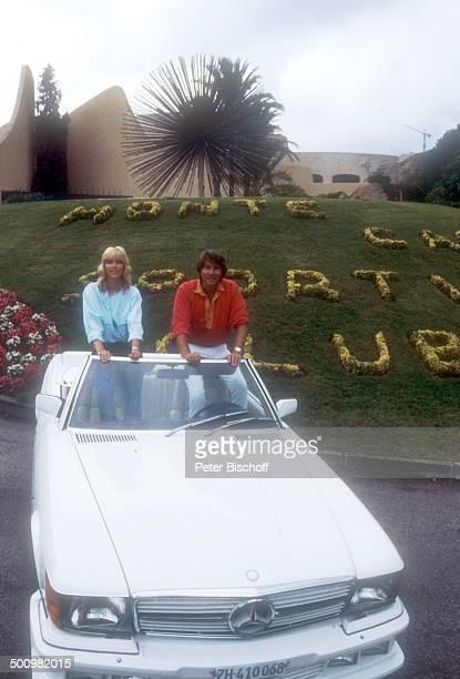 Udo Jürgens Lebensgefährtin Corinna Reinhold Urlaub Monaco/Monte Carlo Schlagersänger Sänger Auto Mercedes Promi Promis Prominente Prominenter HS