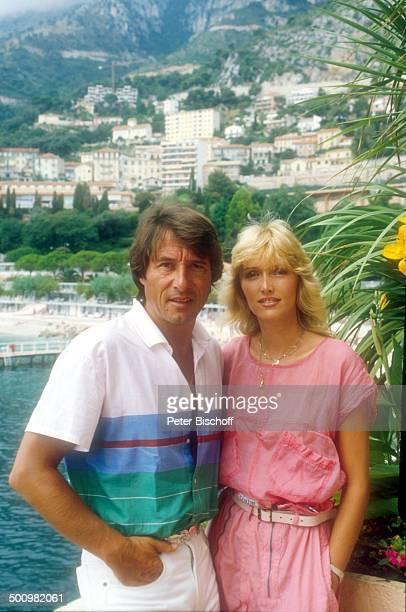 Udo Jürgens Lebensgefährtin Corinna Reinhold Urlaub Monaco/Monte Carlo Schlagersänger Sänger Meer Promi Promis Prominente Prominenter HS