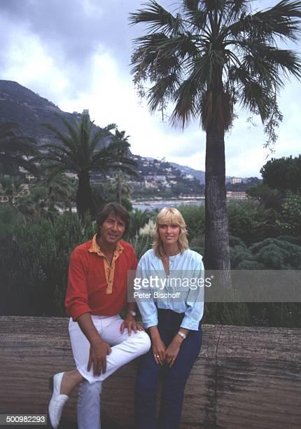 Udo Jürgens Lebensgefährtin Corinna Reinhold Urlaub Monaco/Monte Carlo Schlagersänger Sänger Freundin Promi Promis Prominente Prominenter HS