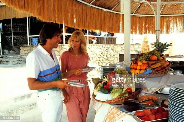Udo Jürgens mit Freundin Corinna Reinhold Monaco/Monte Carlo Promi Foto PBischoff
