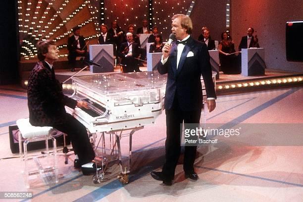 Udo Jürgens Rene Kollo ZDFShow Musik war meine erste Liebe am im Kuppelsaal in Hannover Deutschland