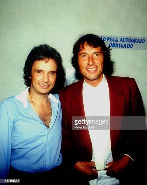 Udo Jürgens Roberto Carlos Rio de Janeiro Brasilien Südamerika Sänger Schlagersänger Promis Prominente Prominenter