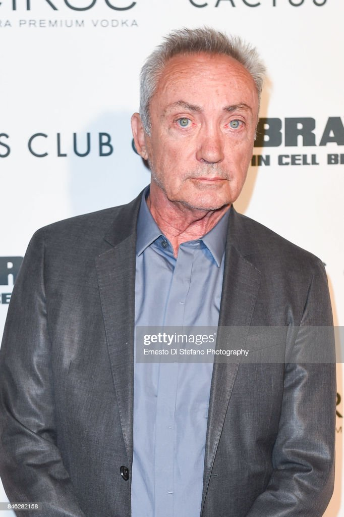 Udo Kier attends 'Brawl In Cell Block 99' Premiere Party Hosted By Cactus Club Cafe At First Canadian Place In partnership With CIROC at First Canadian Place on September 12, 2017 in Toronto, Canada.