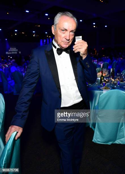 Udo Kier attends the 29th Annual Palm Springs International Film Festival Awards Gala at Palm Springs Convention Center on January 2 2018 in Palm...
