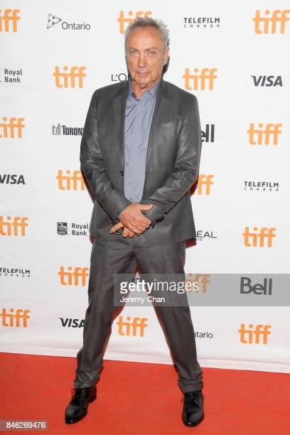 Udo Kier attends the 'Brawl in Cell Block 99' premiere during the 2017 Toronto International Film Festival at Ryerson Theatre on September 12 2017 in...