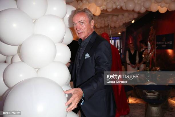 Udo Kier during the PLACE TO B Berlinale party of BILD at Borchardt Restaurant on February 9 2019 in Berlin Germany