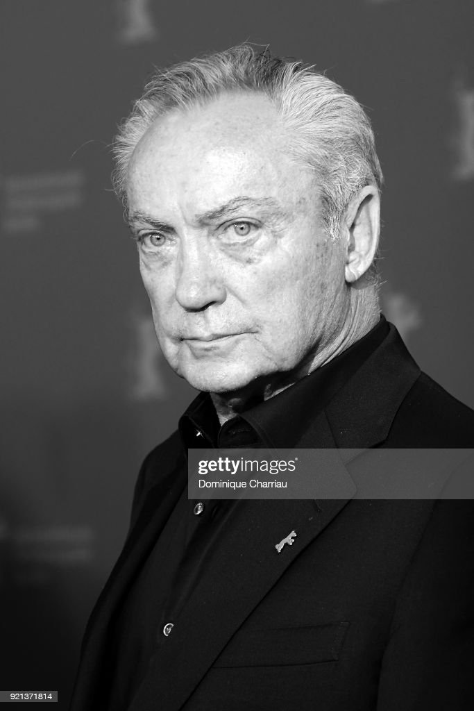 Udo Kier poses at the 'Don't Worry, He Won't Get Far on Foot' photo call during the 68th Berlinale International Film Festival Berlin at Grand Hyatt Hotel on February 20, 2018 in Berlin, Germany.