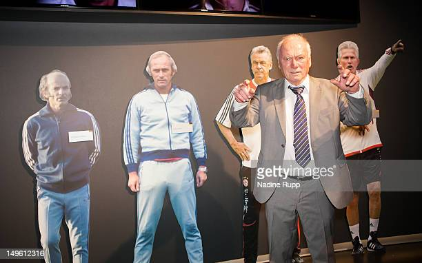 Udo Latteck attends the FC Bayern Erlebniswelt Opening Ceremony at Allianz Arena on August 1 2012 in Munich Germany