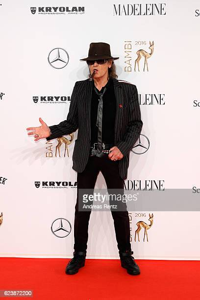 Udo Lindenberg arrives at the Bambi Awards 2016 at Stage Theater on November 17 2016 in Berlin Germany