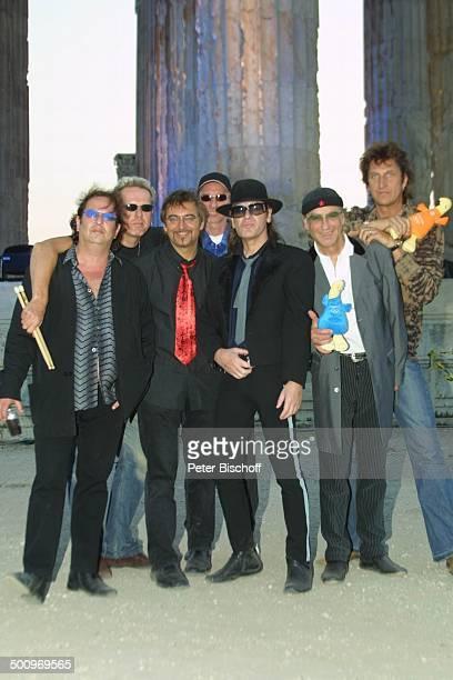 Udo Lindenberg Band Panikorchester ARDSpecial Athen 2004 Die Gala V i c k y L e a n d r o s präsentiert die ARDOlympiaShow Athen/Griechenland Tempel...