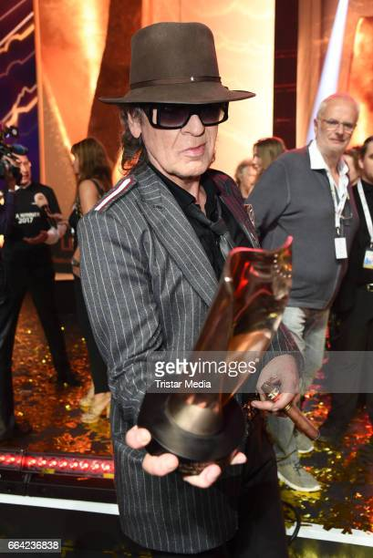 Udo Lindenberg during the LEA PRG Live Entertainment Award 2017 After Show Party at Festhalle Frankfurt on April 3 2017 in Frankfurt am Main Germany