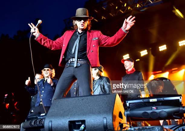 Udo Lindenberg Live 2017 am Zusatzkonzert in der Waldbühne Berlin. Nach Berlin kommen und nur einmal vor mehr als 22.000 Zuschauern in der Waldbühne...