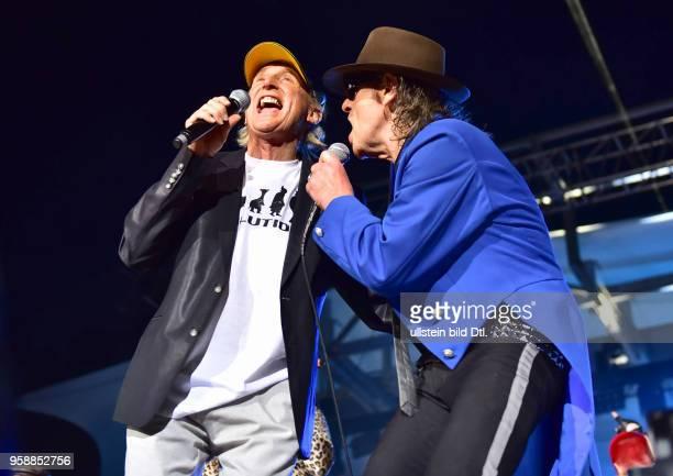 Udo Lindenberg und Otto Waalkes Live 2017 am Zusatzkonzert in der Waldbühne Berlin. Nach Berlin kommen und nur einmal vor mehr als 22.000 Zuschauern...