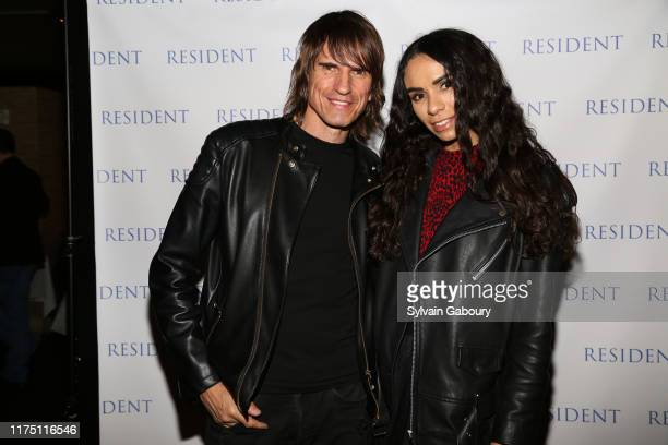 Udo Spreitzenbarth and Samantha Cato attend Janel Tanna's Cover Party By Resident Magazine at Philippe Chow on October 9 2019 in New York City