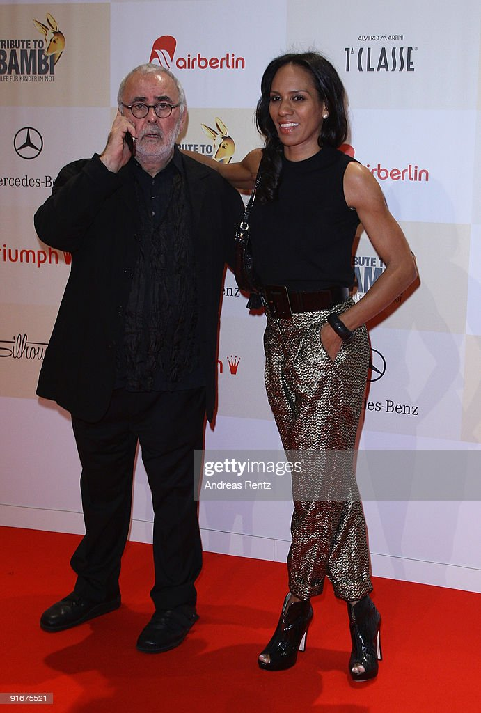 Udo Walz and Barbara Becker arrive for the 'Tribute To Bambi 2009' at The Station on October 9, 2009 in Berlin, Germany.