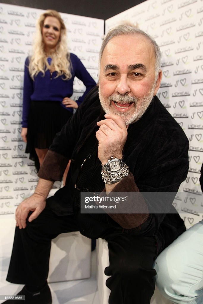 Udo Walz attends the Top Hair International Beauty Fair on March 17, 2013 in Dusseldorf, Germany.