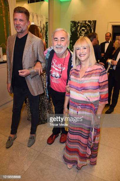 Jan Josef Liefers attends the GGH EAGLES Charity Hauptstadt Cup Gala evening at Hotel de Rome on August 19 2018 in Berlin Germany