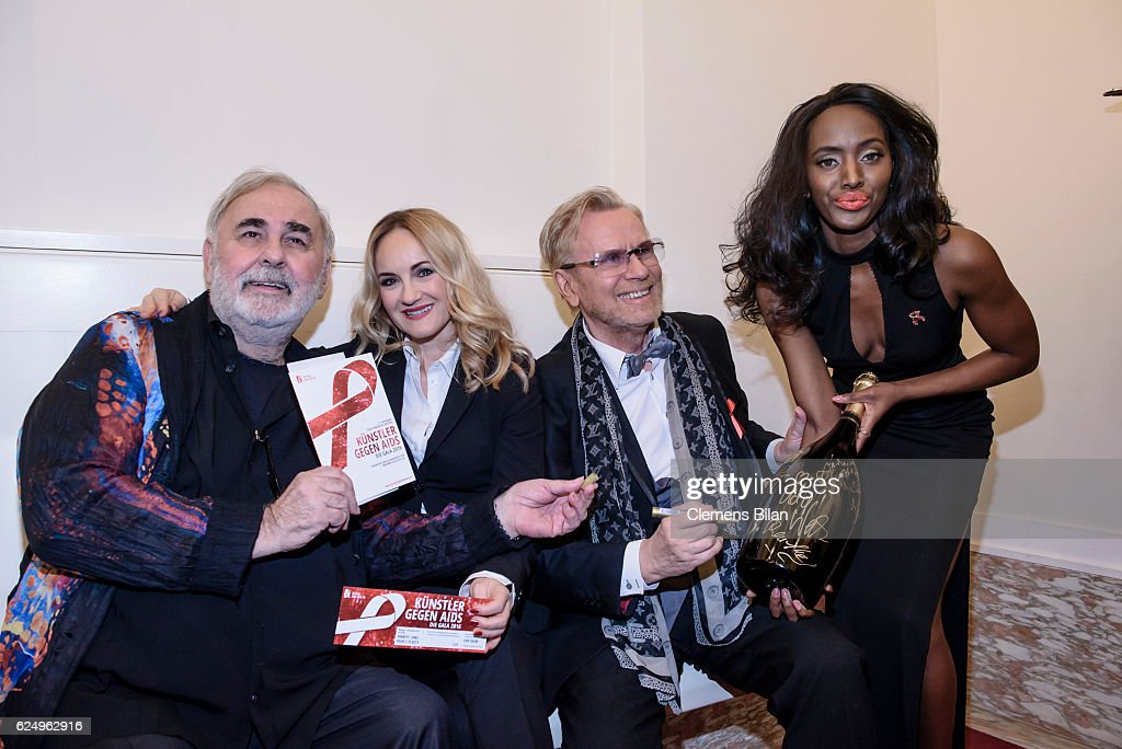 Artists Against Aids Gala 2016