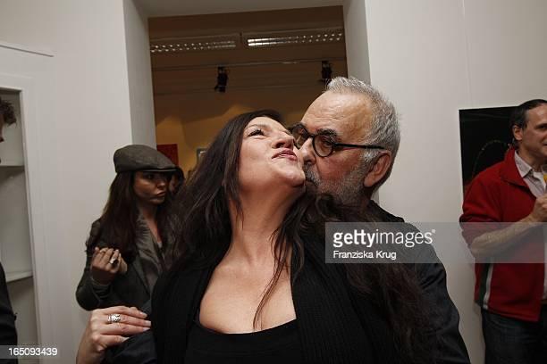 Udo Walz Und Katy Karrenbauer Bei Der Eröffnung Der Galerie Fasanen 37 Mit Cocktailbar In Der Fasanenstrasse In Berlin