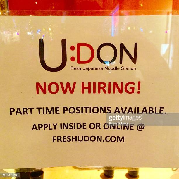 Udon Japanese Noodles help wanted Seattle USA 26 October 2014