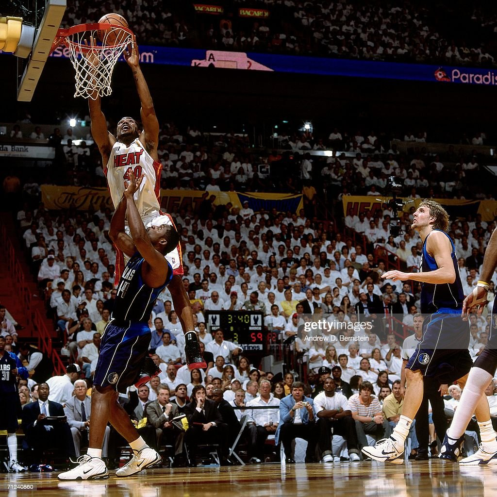 2006 NBA Finals - Game 4: Dallas Mavericks vs. Miami Heat : News Photo